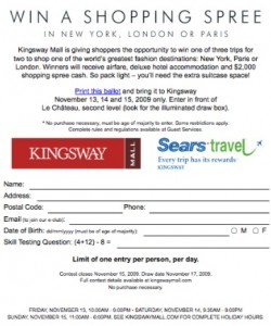 kingsway-mall-edmonton-shopping-spree