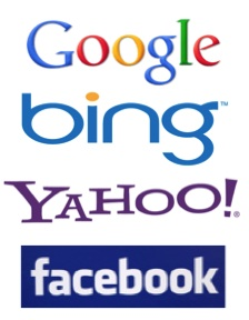 pay per click ad networks - Google, Bing, Yahoo, Facebook